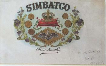 Simon Batt & Co. Cigar Label - Product Image