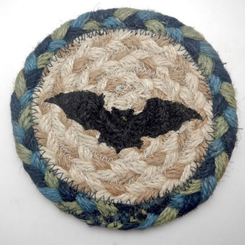 Sky and Forest Bat Coaster or Trivet - Product Image