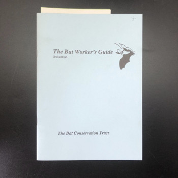 The Bat Worker's Guide 3rd ed - Product Image