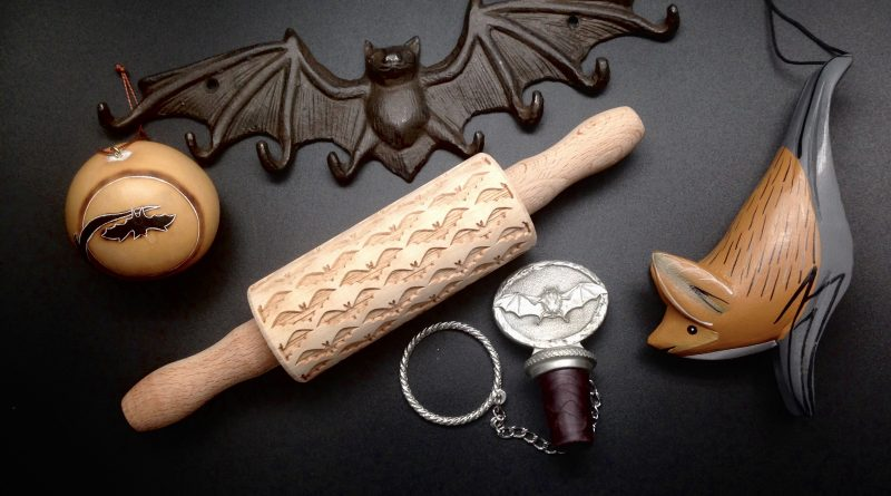 .      Bat Themed Ornaments & Household Goods