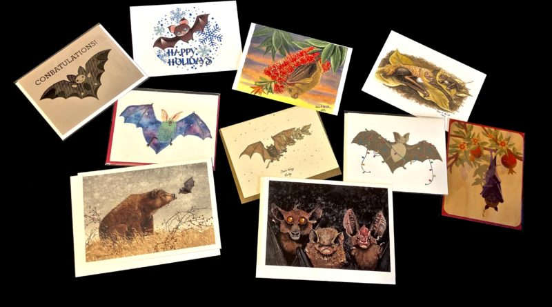 .      Bat Greeting And Holiday Cards
